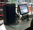 The SafePay closed cash handling system in a retail environment.
