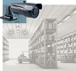 CCTV solutions for warehousing.